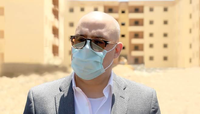 الدكتور عاصم الجزار -وزير الإسكان والمرافق والمجتمعات العمرانية