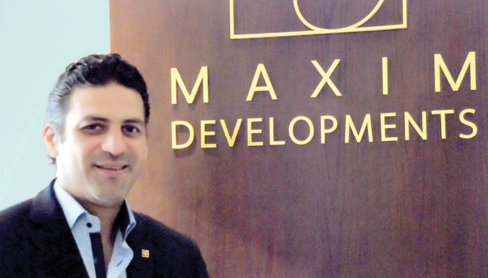 المهندس عمرو محسن -نائب رئيس مجلس إدارة شركة «مكسيم للاستثمار العقاري»