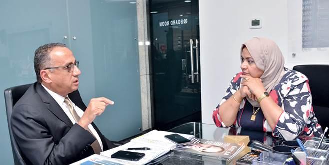 """المهندس طارق الجمال -رئيس مجلس إدارة شركة """"ريدكون للتعمير فى حواره مع أصول مصر"""