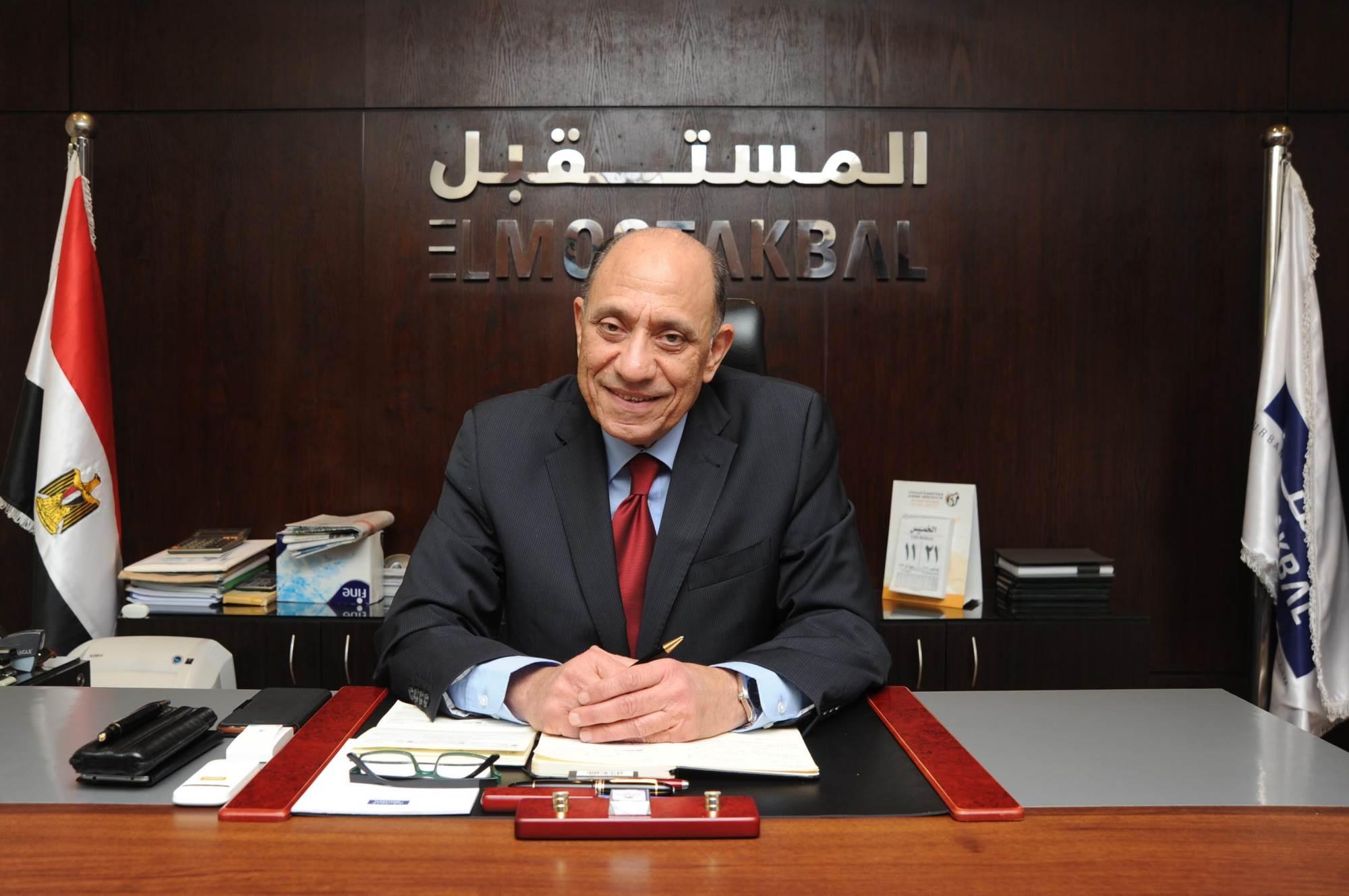 المهندس عصام ناصف -رئيس مجلس الإدارة والعضو المنتدب لشركة  المستقبل للتنمية العمرانية