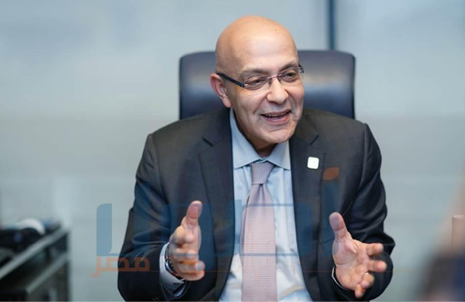 المهندس أحمد صبور -الرئيس التنفيذي لشركة  الأهلي صبور